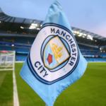 Manchester City hörnflagga