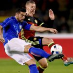 Graziano Pellè in action for Italy