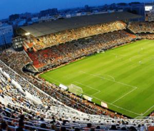 Valenica fotbolls arena