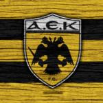 AEK Aten flagga