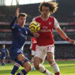chelsea vs arsenal david luiz